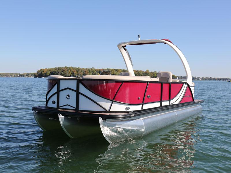 Ski Barge Pontoons